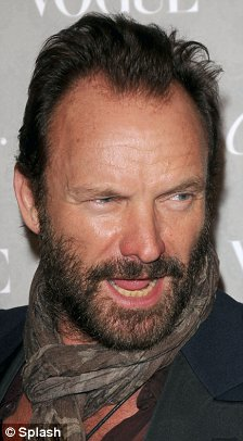 Sting with beard