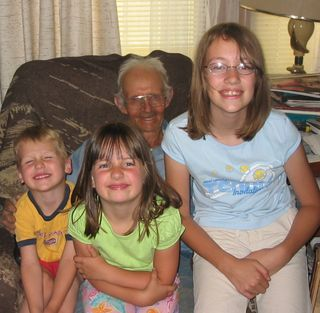 Grandpa M and Kids