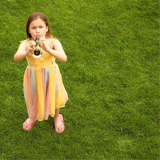Horn playing