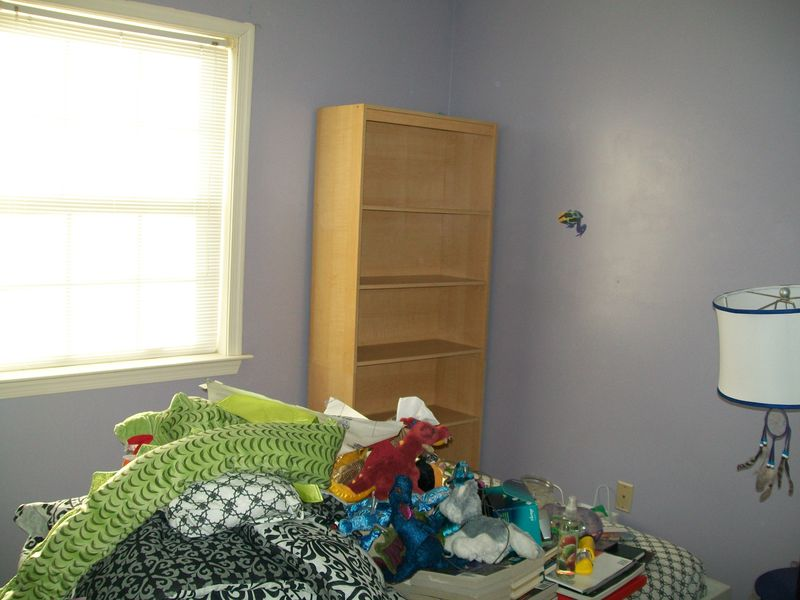 R's room (before), J's penguin project 001