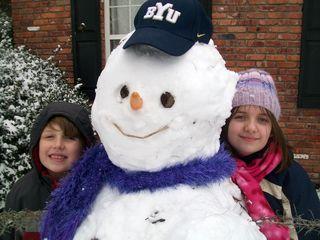 Christmas morning and snow play 022