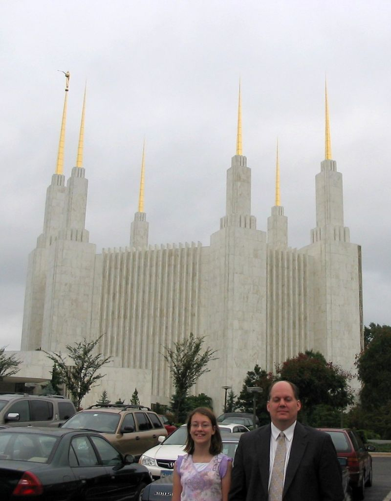 R and P at DC temple
